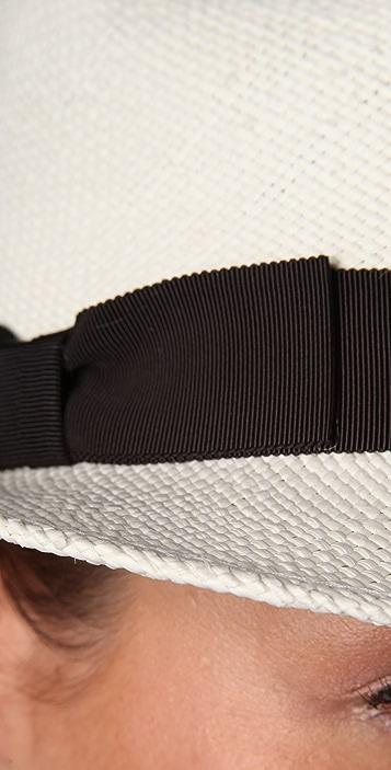 Bop Basics Panama Short Brim Fedora