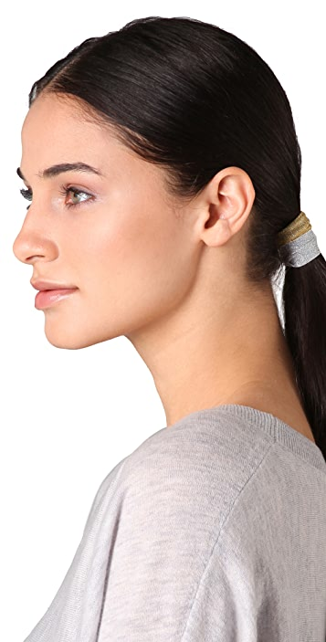Bop Basics Metallic Hair Tie Set