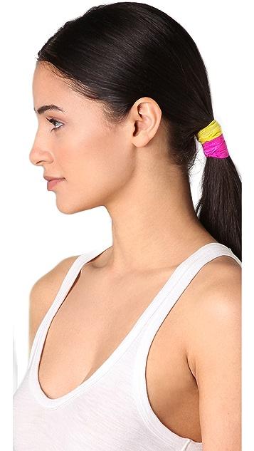 Bop Basics Solid Neon Hair Tie Set