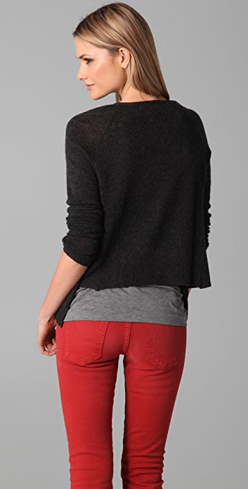 Bop Basics Cashmere Pocket Cardigan