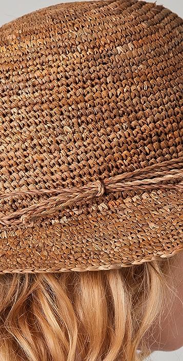 Bop Basics Raffia Crochet Crusher Hat