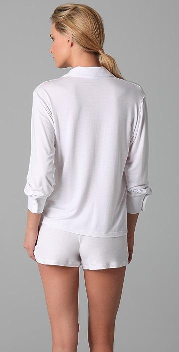 Bop Basics Pajama Top & Shorts Sleep Set
