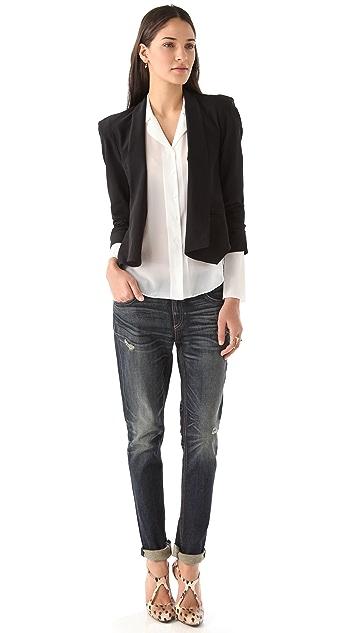Bop Basics Draped Jacket