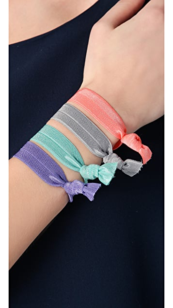 Bop Basics Solid Pastel Hair Tie Set