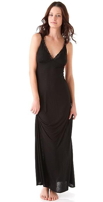 Bop Basics Lace Cross Back Nightgown