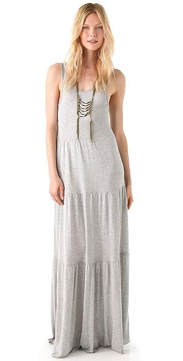 Bop Basics Tiered Maxi Dress
