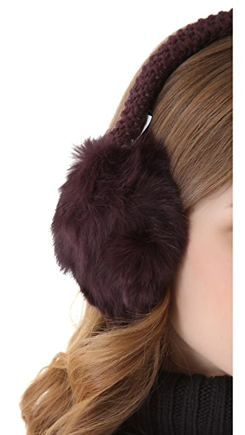 Bop Basics Fur Earmuffs