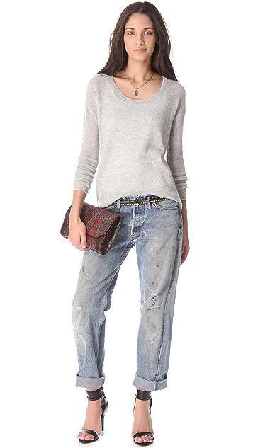 Bop Basics The Ellipser Cashmere Sweater