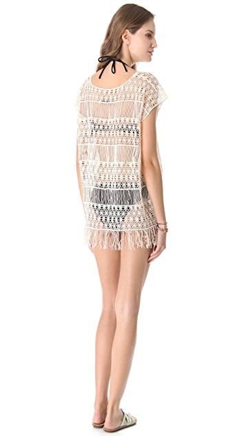 Bop Basics Island Crochet Cover Up