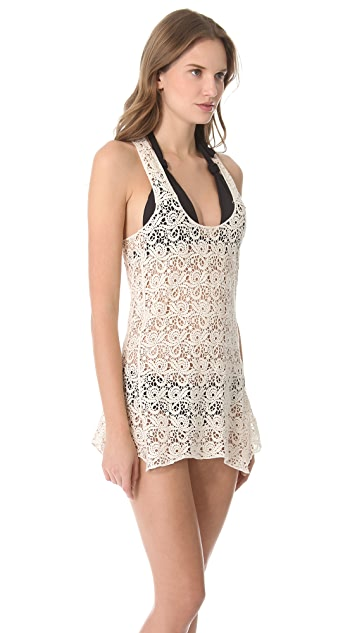 Bop Basics Poppy Lace Cover Up Dress