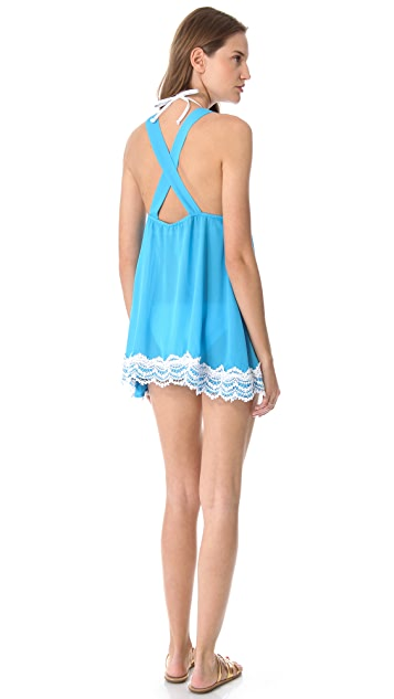 Bop Basics Breakers Cover Up Mini Dress