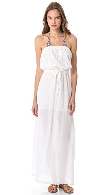 Bop Basics Cassis Cover Up Maxi Dress