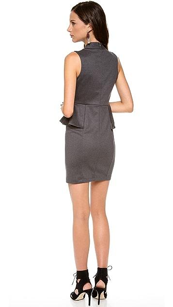 Bop Basics Sleeveless Peplum Dress