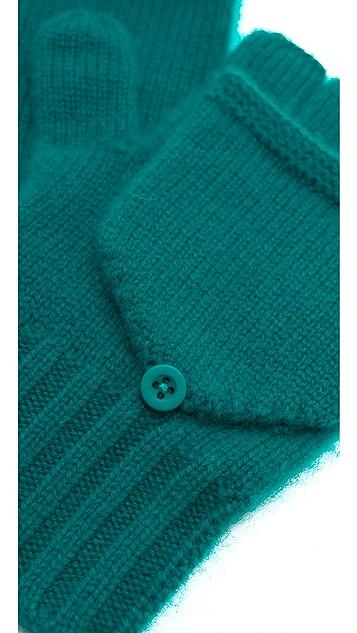Bop Basics Cashmere Pop Top Mittens