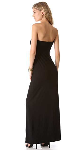 Bop Basics Strapless Maxi Dress