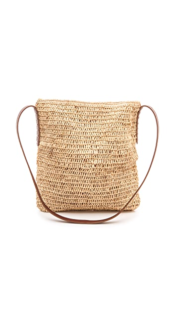 2b7cd3bfbe Raffia Cross Body Bag