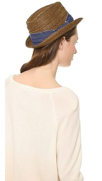 Bop Basics Textured Braid Fedora