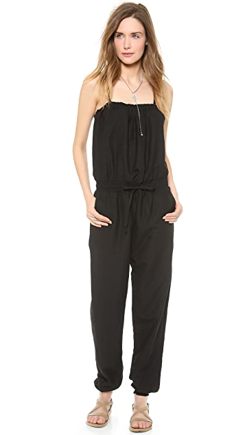 Bop Basics Beachy Cover Up Jumpsuit