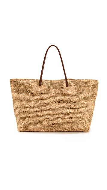 Bop Basics Luxe Tote with Leather Handles