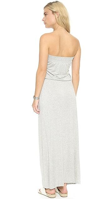 Bop Basics Strapless Maxi Dress