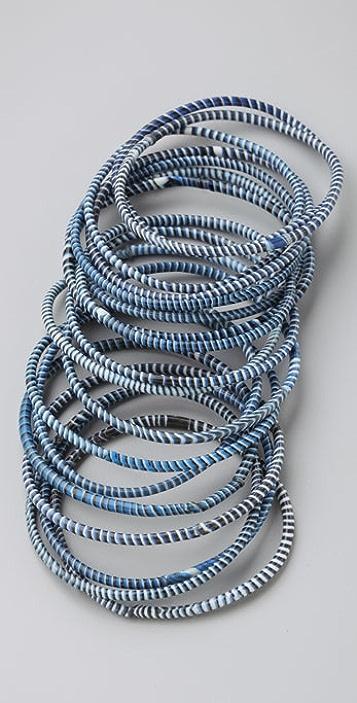 Bop Bijoux Made with Love Bracelets - Set of 18