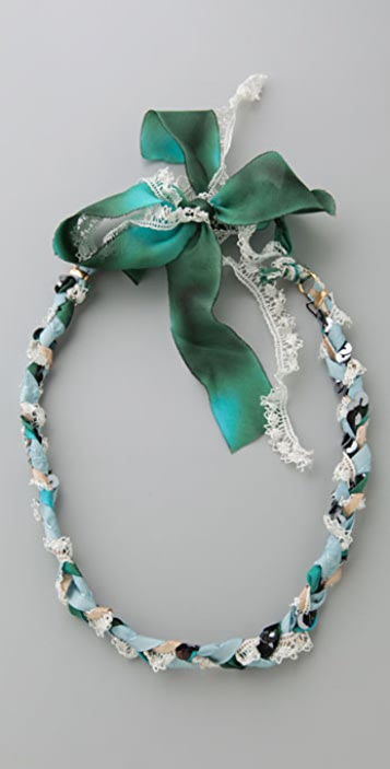Bop Bijoux Vintage Braided Headband / Wrap Bracelet