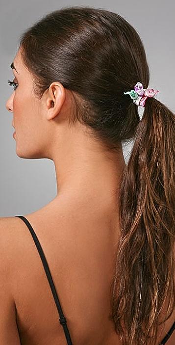 Bop Bijoux Jewel Tone Hair Tie Set