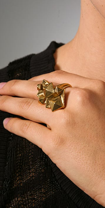 Bop Bijoux Pyramid Ring