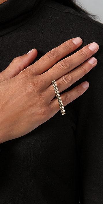 Bop Bijoux Chain Bar Ring