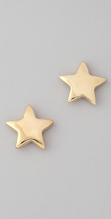 Bop Bijoux Star Stud Earrings