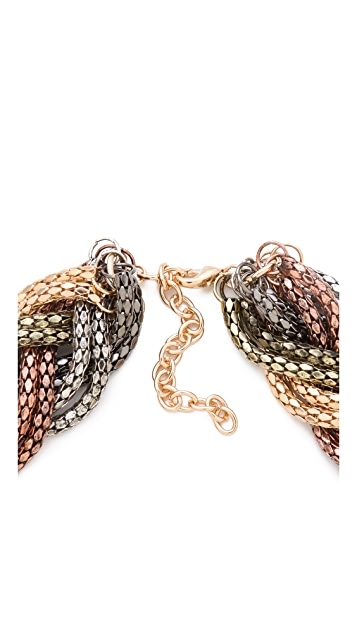 Bop Bijoux Braided Weave Necklace