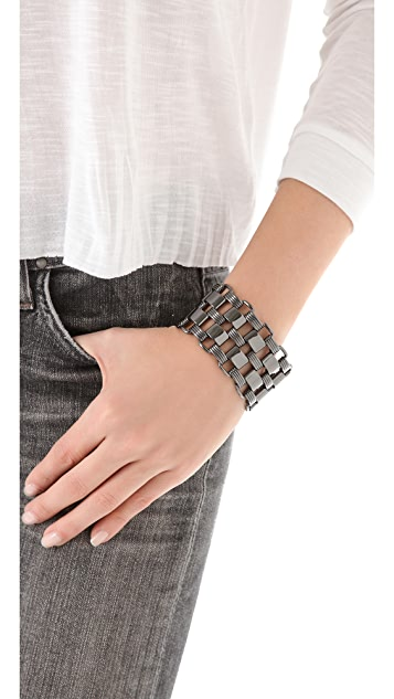 Bop Bijoux Double Box Chain Bracelet