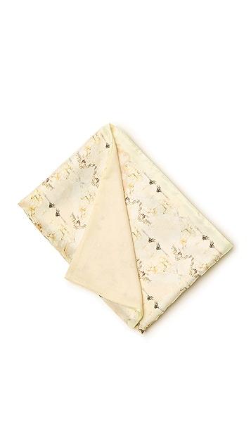 Born Free Alexander McQueen Baby Blanket