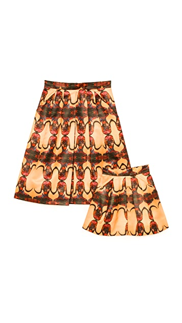 Born Free Prada Child's Pleated Skirt