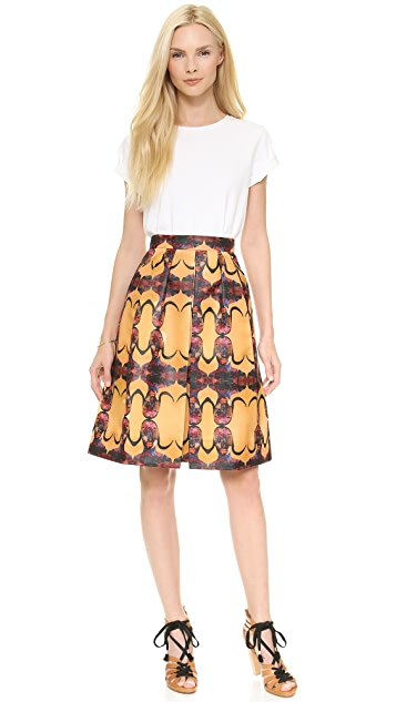 Born Free Prada Pleated Skirt