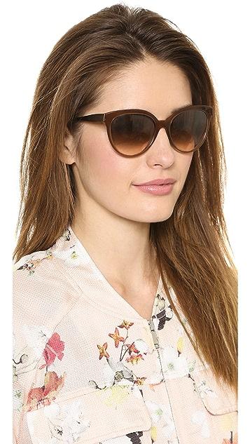 Bottega Veneta Cat Eye Sunglasses