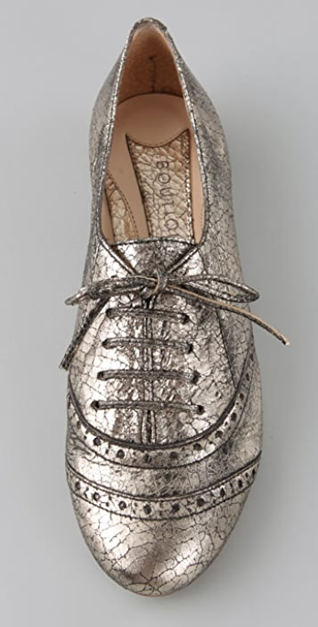 Boutique 9 Ronnie Jazz Oxford Flats