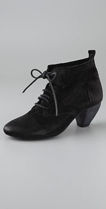 Bacchus Lace Up Booties