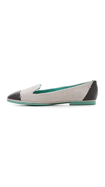 Boutique 9 Didi Suede Smoking Flats