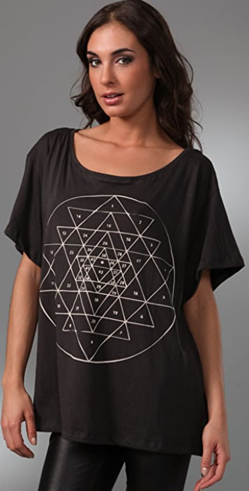 BOYFRIEND/GIRLFRIEND Slouchy Yantra Top