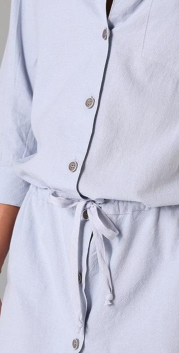 BOYFRIEND/GIRLFRIEND Boyfriend Shirtdress