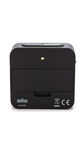 Braun Digital Square Alarm Clock