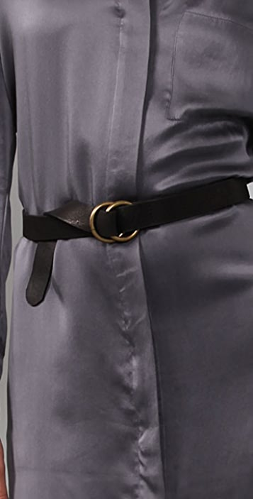 Brochu Walker Belted Shirtdress