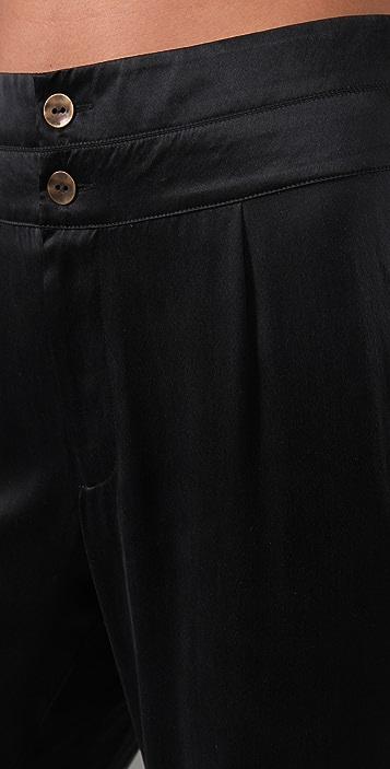 Brochu Walker Pleated Trousers