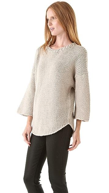 Brochu Walker Hand Knit Pullover Sweater