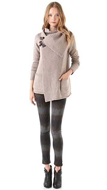 Brochu Walker Toggle Cashmere Cardigan
