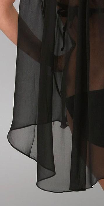 Brette Sandler Swimwear Olivia Draped Cover-Up