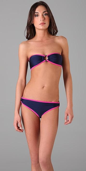 Brette Sandler Swimwear Alexa Bandeau Bikini