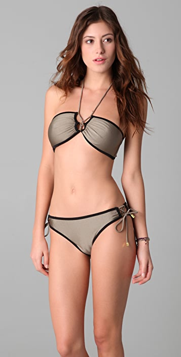 Brette Sandler Swimwear Corey Bandeau Bikini