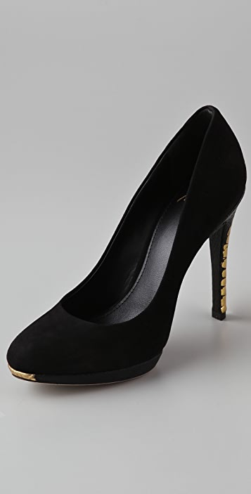 B Brian Atwood Fredrique Suede 8 Pumps